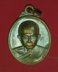 13676 เหรียญวัดสุวรรณ ราชหงษ์ อ่างทอง เนื้อทองแดง 89