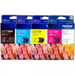 Brother หมึกแท้  LC-73[BK/C/M/Y] Ink Cartridge 1Set - 4 สี