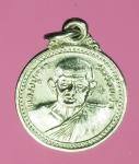 14292  เหรียญหลวงปู่คร่ำ วัดวังหว้า ระยอง ปี 2532 กระหลั่ยเงิน 67