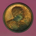 14558 เหรียญในหลวงรัชกาลที่ 5 วัดบางพระ นครปฐม ปี 2536 เนื้อทองแดง 36