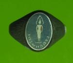 15316 แหวนพระพุทธฉาย สระบุรี หน้าเงินลงถม 81
