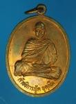 15551 เหรียญพระอธิการญัติ วัดสายไหม ปทุมธานี ปี 2539 เนื้อทองแดง 46