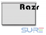 RAZR WRP-V120 จอภาพชนิดแขวนมือดึง 120' ฉายหลัง 4:3