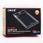 OKER BOX External HDD Box ST-2529 แบบใส