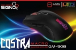 Signo E-Sport GM-908 COSTRA Macro Gaming Mouse