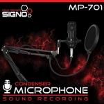MICROPHONE SIGNO MP-701 CONDENSER MICROPHONE SOUND RECORDING