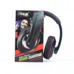หูฟังแบบครอบหู OKER รุ่น OE-780 Stereo Headphone Control+Mic