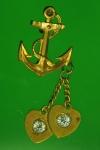 15992 เข็มกลัดสมอเรือ กระหลั่ยทอง 16