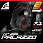 SIGNO E-Sport 7.1 Surround Sound Gaming Headphone รุ่น PALAZZO HP-823