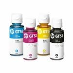 INK HP ORIGINAL ชนิดเติม GT51 BK / GT52 C,M,Yสำหรับปริ้นเตอร์รุ่น Hp GT-5810 All