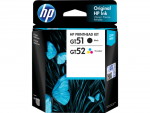 ตลับหมึก HP PRINTHEAD GT51/GT52 (หัวพิมพ์) 3JB06AA ใช้สำหรับรุ่น GT5810,GT5820,G