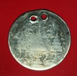 16210 เหรียญมงกุฏ - ช้างในพระแสงจักร ราคา 1 บาท  เนื้อเงิน 16
