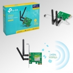 การ์ด Wireless TP-Link TL-WN881ND 300Mbps Wireless N PCI Express