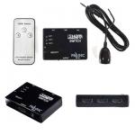Magictech กล่องรวมจอ HDMI Switch 3in1 HDMI Version HDMI 1.4