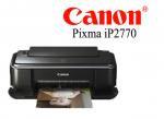 Canon Pixma รุ่น iP2770 (ปริ้นอย่างเดียว) พร้อมตลับหมึกแท้จาก canon 1 set
