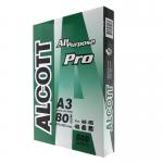 ALCOTT กระดาษถ่ายเอกสาร A3 80แกรม PRO Green (500แผ่น/รีม) แอลคอท