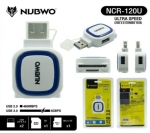 NUBWO NCR-120U USB HUB 2Port 3.0 + Card Reader/SD CARD/MICRO SD