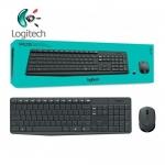 Logitech Wireless Keyboard and Mouse รุ่น MK235 แป้นภาษาไทย/อังกฤษ ของแท้ Logite