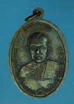 17434 เหรียญพระครูประวิตรวิหารการ วัดใหม่พิเรนทร์ กรุงเทพ เนื้อทองแดงรมดำ 18