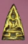 17503 พระพุทธ หลวงพ่อยุ้ย วัดบางกะปิ กรุงเทพ เนื้อชินตะกั่วลงทอง 13