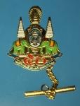 17689 เข็มกลัดฉลอง 50 ปี สิริราชสมบัติ ในหลวงรัชกาลที่ 9 กระหลั่ยทอง 17