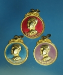 17955 เหรียญลงยา วัดเจ้าคุณนรรัตน์ วัดเทพศิรินทร์ กรุงเทพ กระหลั่ยทอง 10.4