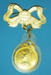 18114 เหรียญโบว์ เจ้าคุณนรรัตน์ วัดเทพศิรินทร์ กรุงเทพ กระหลั่ยทอง 10.4