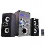 MUSIC D.J. ลำโพง บลูทูธ รุ่น M-M3 2.1 CH EXTRA Bass Multimedia Speaker เชื่อมต่อ