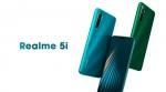 Realme 5i Ram4GB / Rom128GB เครื่องแท้ ประกันศูนย์ 1ปี จอ6.5นิ้ว กล้องดิจิตอล 12