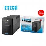 ETECH เครื่องสำรองไฟ รุ่น THOR 800VA UPS ขนิด LINE INTERACTIVE WITH STABILIZER