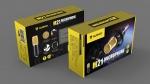 MicroPhone NUBWO (M21) Gold External SOUND USB ไมค์อัดเสียง คอนเดนเซอร์ ใช้วงจรอ