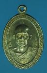 20136 เหรียญหลวงพ่อสว่าง วัดพรหมเสนาราม ปราจีนบุรี กระหลั่ยเงิน 48