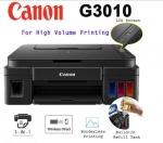 CANON Inkjet All in one Printer PIXMA G3010 + แถมหมึก 4800 x 1200 dpi / Copy / S