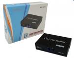 กล่องแยกจอConverter VGA Switch 2 port อุปกรณ์สลับจอ 2 port รุ่น VGA-15-2C