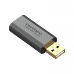 Sound Card Vention USB Gray Metal Type (OMTP/CTIAX) 2.1/7.1(VAB-S19-H)