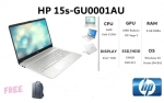 NOTEBOOK HP 15S-GU0001AU DISPLAY 15.6 FULL HD ANTI-GLARE (194Y9PA-AKL) พร้อม ระบ