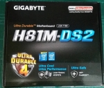 MAINBOARD (1150) GIGABYTE GA-H81M-DS2 Chipset Intel H81