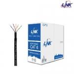 LINK สายแลน CAT6 OUTDOOR รุ่น US-9106OUT-1 สำหรับใช้ภายนอกอาคาร ความยาว 100เมตร