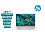 Notebook HP 15s-du2051TX Corei3-1005G1 Ram4GB/SSD256GB จอ15.6' ระดับ FHD พร้อมระ