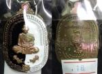 เหรียญหลวงพ่อพัฒน์ วัดห้วยด้วน รุ่นพยัคฆ์อรหันต์ ๙๙ เนื้อชนวนลงยาหยินหยาง (ทีมสร