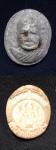 พระผงหลวงปู่แหวน วัดดอยแม่ปั๋ง ออกวัดถ้ำปากเปียง ปี 2517 พิมพ์เล็ก น่าบูชายิ่ง