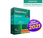 Kaspersky Anti-Virus 3 Devices 1 Year (2021)