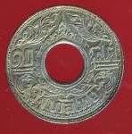 21728 เหรียญกษาปณ์ 10 สตางค์ ปี พ.ศ. 2484 เนื้อเงิน 5.1