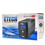 ETECH ego By Zircon UPS 1000VA เครื่องสำรองไฟ มีจอ LCD แสดงผลทาง ไฟฟ้า 9 สถานะแบ