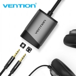 Vention (CDKHB) USB External Sound Card Pure sound quality/Expanded audio 0.15M