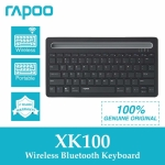 Rapoo XK100 Wireless Bluetooth Keyboard คีย์บอร์ด ไร้สาย แป้นภาษาไทย/อังกฤษ สามา