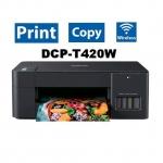 Brother Printer เครื่องพิมพ์ Brother DCP-T420W Ink Tank Print, Scan, Copy / Wi-F