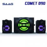 SAAG D90 COMET SPEAKER 5W+3Wx2 BLUETOOTH USB/AUX/FM/SD (2.1) SAAG COMET (D90) US