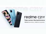 Realme C21Y 6.5 นิ้ว (1600 x 720px) Ram 4GB+Rom64GB แบต 5,000mAh (ประกันศูนย์ไทย