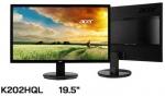 ACER LED Monitor 19.5'' EH200Qbi จอขนาด 19.5? ความละเอียด 1366 x 768 (TN, VGA, H